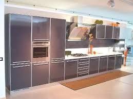 Image Of Grey Painted Kitchen Cabinets