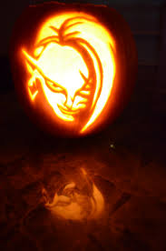 Legend Of Zelda Pumpkin Template by Halloween 2012 Herbalcell