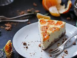 ein kuchen für das weihnachtsfest mandarinen käsekuchen mit spekulatius boden glutenfrei