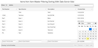 ReddyInfoSoft Jquery DataTable paging Sorting and Multi search