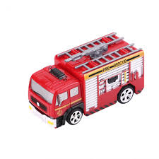 8027 27MHz RC 1:58 Mini Fire Engine Rescue Truck Remote Control Toy ...