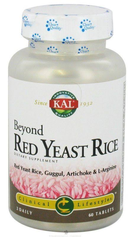 Kal Beyond Red Yeast Rice Tablet Dietary Supplement - 60ct