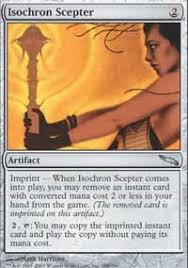 isochron scepter mirrodin magic the gathering online gaming