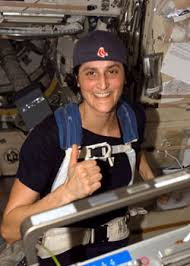 Astronaut Sunita L Williams Participates In The Boston Marathon From Space