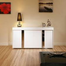 White Buffet Sideboard Modern — All Furniture Functional
