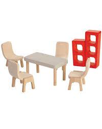 puppenhaus möbel esszimmer 7 teilig aus holz