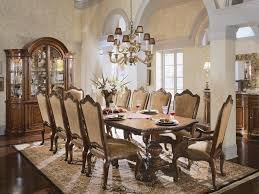 Luxury Dining Room Furniture Picture With Traditional Rug Design