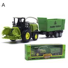 100 Toy Farm Trucks And Trailers Amazoncom XxiaoTHAWxe 155 Diecast Truck Tractor