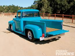 100 1956 Ford Truck 56 F100 Thats A Striking Color Cars I Love Pinterest