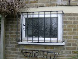 Decorative Security Grilles For Windows Uk by Wrought Iron Security Gates And Grills