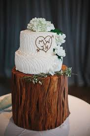 Woodsy Hudson Valley Wedding WeddingRustic CakesWhite