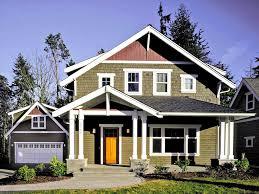 Farmhouse Houseplans Colors 58 Best Craftsman Bungalow House Plans Images On Pinterest Log