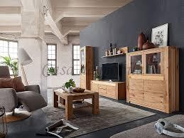 wohnzimmer 5teilig altenau wildeiche massiv rustikal natur geölt casade mobila
