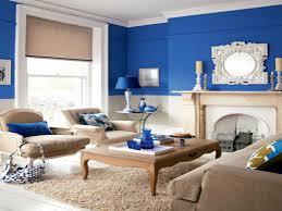 living room living room blue theme decoration blue color