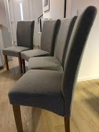 stühle tom grau dänisches bettenlager 4x preis p stuhl