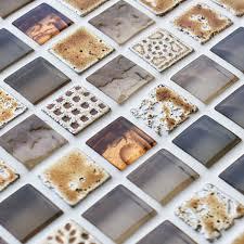 Iridescent Mosaic Tiles Uk by Mosaic Tiles Wall Mosaic Tiles Mosaic Village