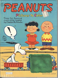 This Peanuts Saalfield Coloring Book Is Listed On EBay For 175