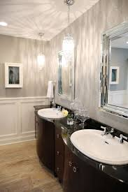 Chandelier Over Bathroom Vanity by Bathroom Lighting Creative Crystal Lighting For Bathroom