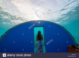100 Rangali Resort Maldives Island Conrad Hilton Couple At Ithaa