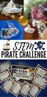 100 Design A Pirate Ship STEM Ctivities Challenges Brownies GS Stem Activities