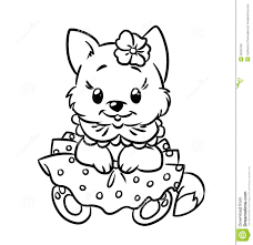 Baby Kittens Coloring Pages