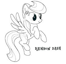 Coloring Pages Mlp Wedding Car Pic My Little Pony Page Rainbow Dash