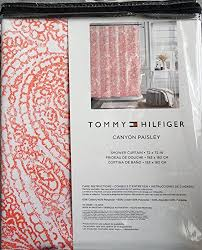 Tommy Hilfiger Curtains Mission Paisley by Tommy Hilfiger Shower Curtains Shower Curtains Outlet