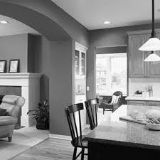 grey living room decor floating steps light blue walls glass