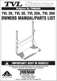Railgates By THIEMAN IMPORTANT! KEEP IN VEHICLE! PLEASE READ AND ... The National Truck Equipment Association Work Show Photo Utility Crane Bodies Custom From Intercon Australian Industrial Lifting Forklift Safety Nteanational Public Works Magazine Impact Interview With Bonnifer Ballard New Ste Inc Michigans Premier Commercial Tailgates By Thieman Snow Ice Dump Rources Heritage About The Industry Item Detail Receiving Report Cstktec Blog Cstk