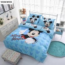 online get cheap mickey mouse full sheet sets aliexpress com
