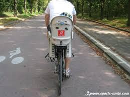 siege velo vtt siège vélo bébé hamax smiley compatible vtt sans porte bagage
