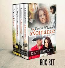 Box Set 4 Pioneer Wilderness Romance Books 13 16