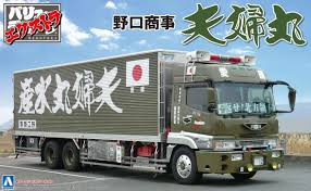 Aoshima 55823 Japanese Decoration Truck Extra N | PlazaJapan