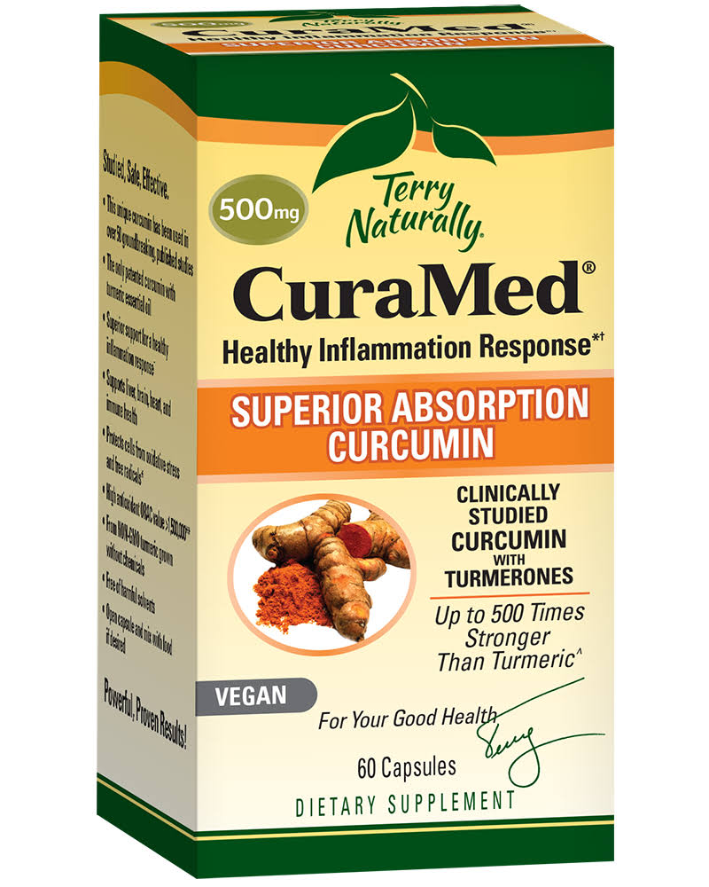 Terry Naturally CuraMed 500mg 60 Capsules