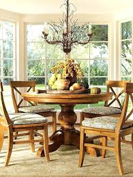Round Dining Table Decor Inspiring A With Bountiful Centerpiece Rooms
