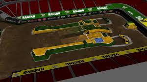 100 Monster Truck World Finals Jam XVIII Racing Track YouTube