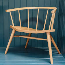 100 Contemporary Armchair Devon In Ash And Elm