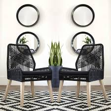 Nature Hand Crafted Design Black Woven Rope And Mango Wood Dining Chairs  (Set Of 2) Alfresco Sintra 1100 Round Teak Ding Table Orient Express Costa Chair Taupe White Rope Grey Wood Height Lad Classic Bedroo Side Fniture Chairs Ellie 5pc Outdoor Setting Amazoncom Solid Retro Cowhide Garden Page 2 Of 12 Glasswells Peacock By Caline Wgu Design Danish Mid Century Frem Rojle And Set 4 Large Pine With Twist Legs Midcentury Swedish Modern Svegards Mkaryd Weave Luxury Organic Hand Woven