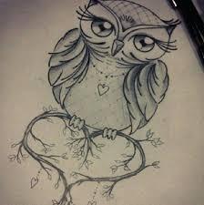 Cute Owl Drawings Best Draw Easy