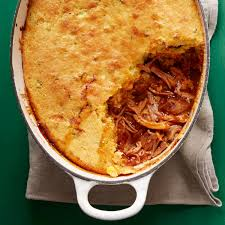 Pulled Pork With Cornbread Topping Rachael Ray Every Day