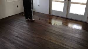 Fabulon Floor Finish Home Depot by How To Apply Polyurethane On Hardwood Floors Youtube