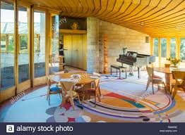 100 Frank Lloyd Wright Houses Interiors Interior Of The David And Gladys House Designed By