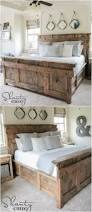 King Size Bed Frame And Headboard U2013 Headboard Designs Within King by 21 Diy Bed Frame Projects U2013 Sleep In Style And Comfort Diy U0026 Crafts