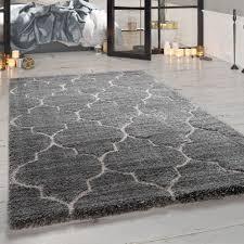 hochflor teppich wohnzimmer orient design