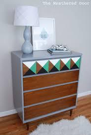bedroom blue bedroom furniture mcm dresser makeover wooden table