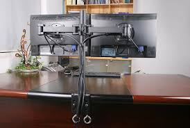 Dual Monitor Stand Up Desk by Dual Monitor Stand Up Desk Images