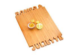 planche cuisine planche à découper 2x8 lettres la planche à découper