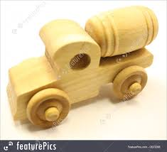 100 Toy Cement Truck S And Souvenirs Wooden Stock Photo I2072056