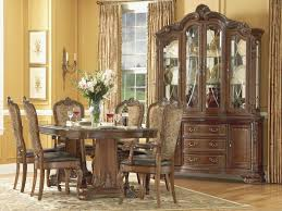 Dining Rooms Sets Lovely Old World Double Pedestal Extendable Room Set From Art