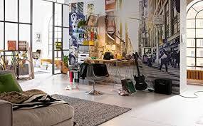 komar vlies fototapete times square 368 x 248 cm tapete wand dekoration wandbelag wandbild wanddeko new york beleuchtet xxl4 008